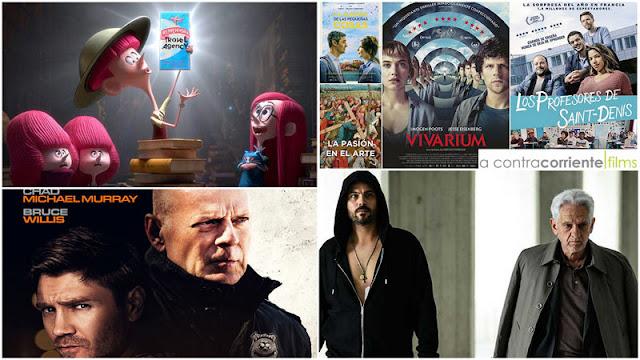 'El Inmortal: una película de Gomorra', 'Survive The Night' con Bruce Willis y 'Los hermanos Willoughby' de Netflix