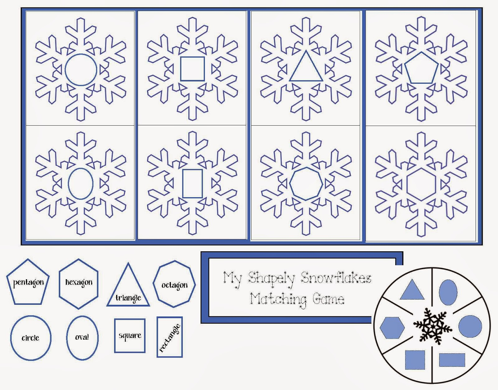 Worksheets Snowflake Science