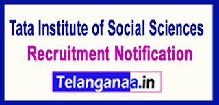 TISS Tata Institute of Social Sciences Recruitment Notification 2017