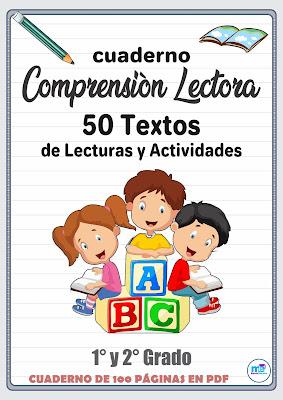 Comprensión Lectora 50  textos de lecturas y actividades