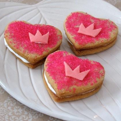 Tiana's Heart-to-Heart Cookies