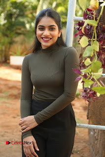 Tollywood Actress Punarnavi Bhupalam Latest Po Gallery in Black Trouser Pant at Pittagoda Movie Interview  0051.JPG
