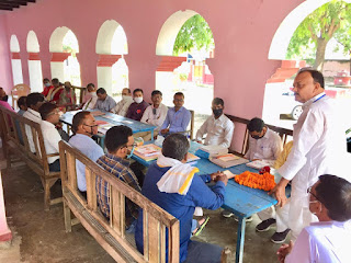 शिक्षक संघ के गौरवशाली अतीत को वर्तमान नेता संजोये रखने में असमर्थ : रमेश सिंह | #NayaSaberaNetwork