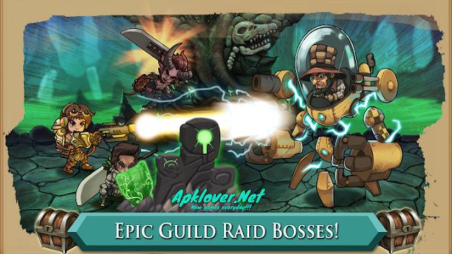 Raiders Quest RPG MOD APK unlimited skill