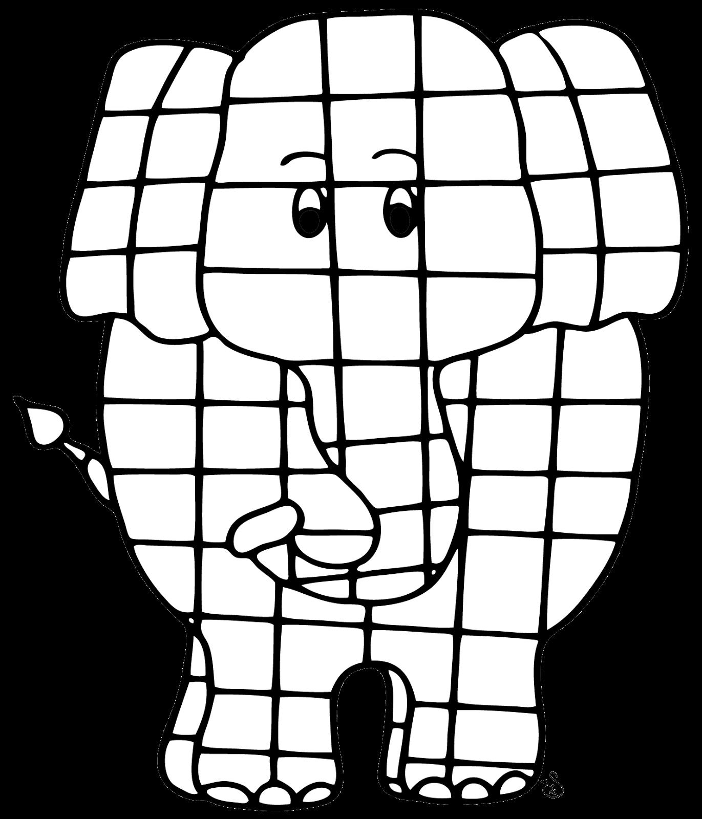 Catch &39;em Early Elmer the Patchwork Elephant