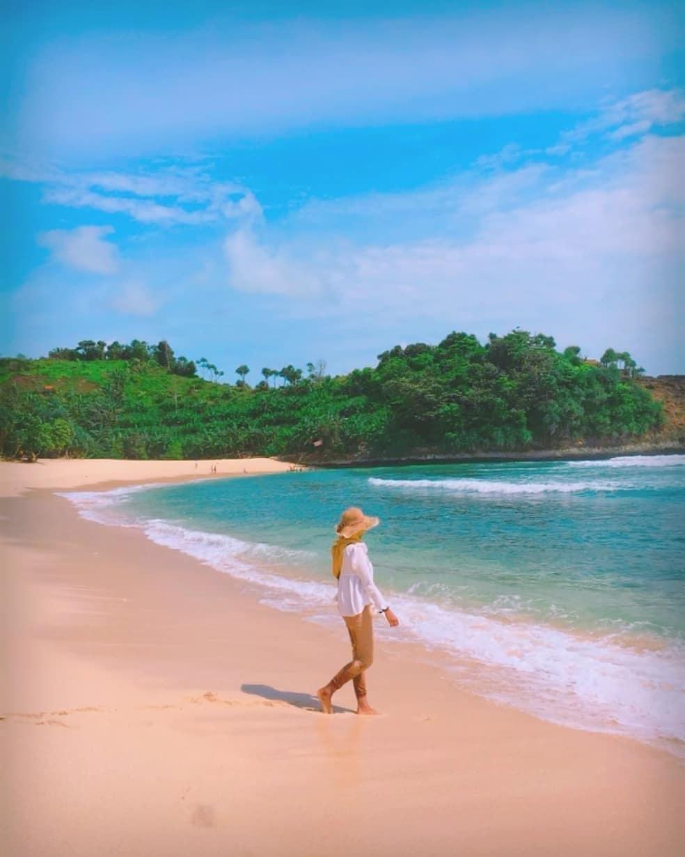 Jarak Pantai Ngudel