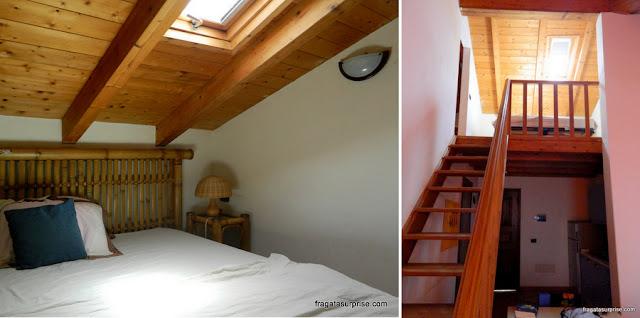Dormitório de apartamento para aluguel de férias em Santa Maria, Ilha do Sal, Cabo Verde