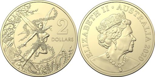Australia 2 dollars 2020 - Tooth Fairy