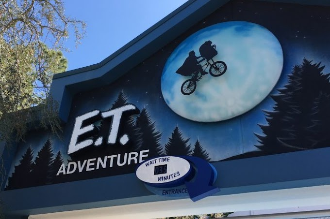 Music Behind the Ride: E.T. Adventure