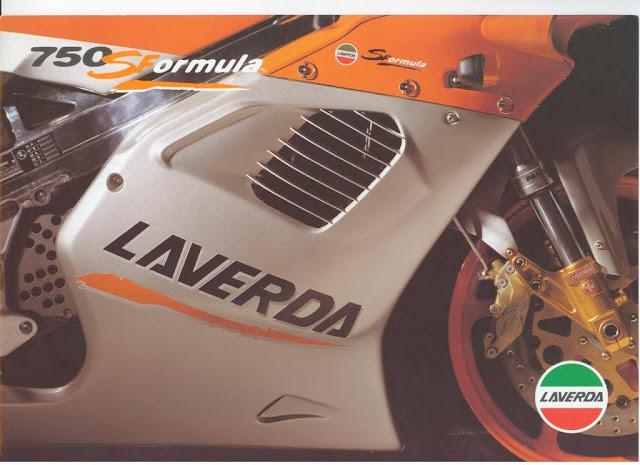 Zanè Laverda 750 S Formula Brochure