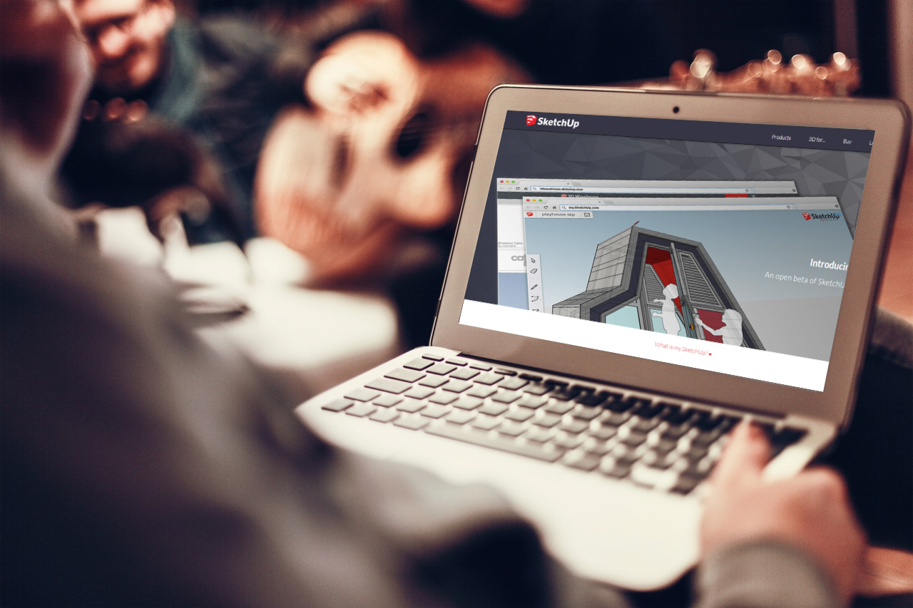 SketchUp 知名 3D 繪圖軟體免下載網頁版,免費提供 10GB 空間