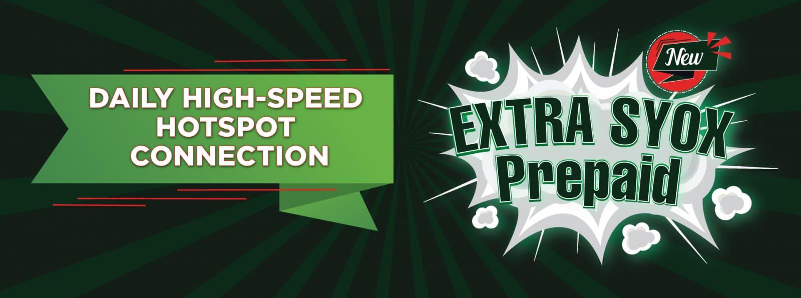 EXTRA SYOX PREPAID ONEXOX