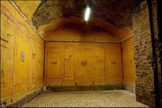 casa beleza aula amarela - Subterrâneos de Roma