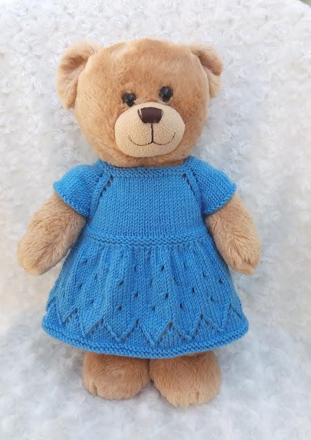 Crochet teddy bear Amigurumi bear Dress up doll Knitted | Etsy | 640x453