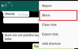 cara menyembunyikan status online di Whatsapp 13