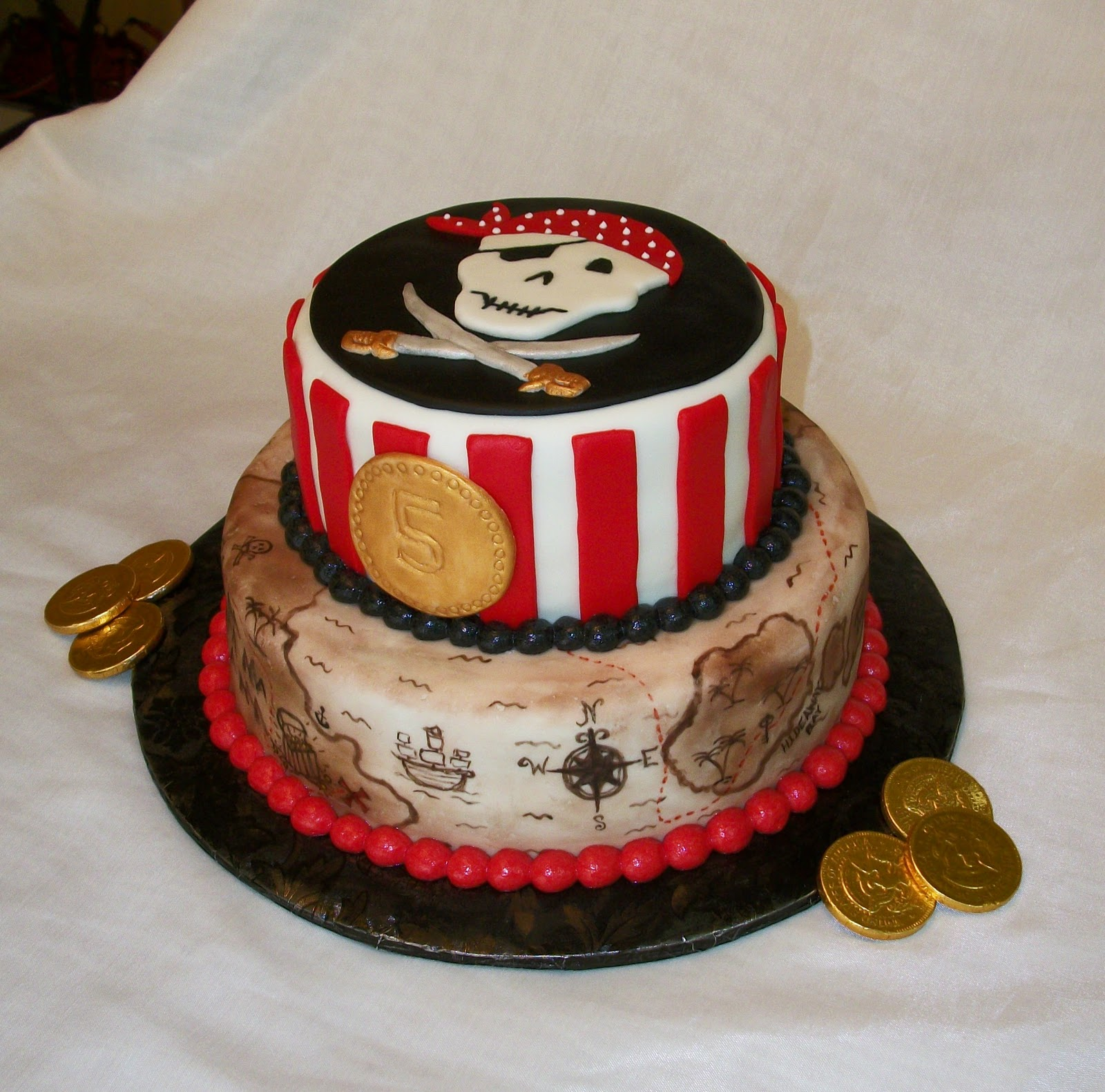 Bellissimo Specialty Cakes Pirate Birthday Cake