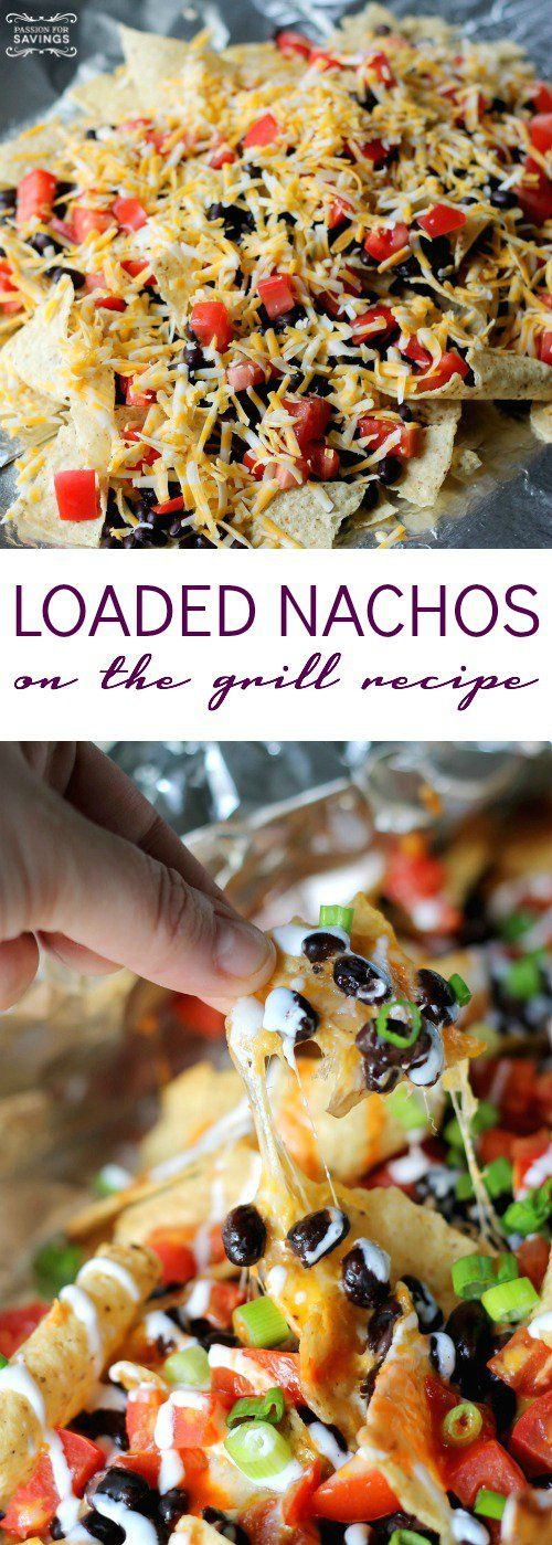 Loaded Nachos on the grill recipe