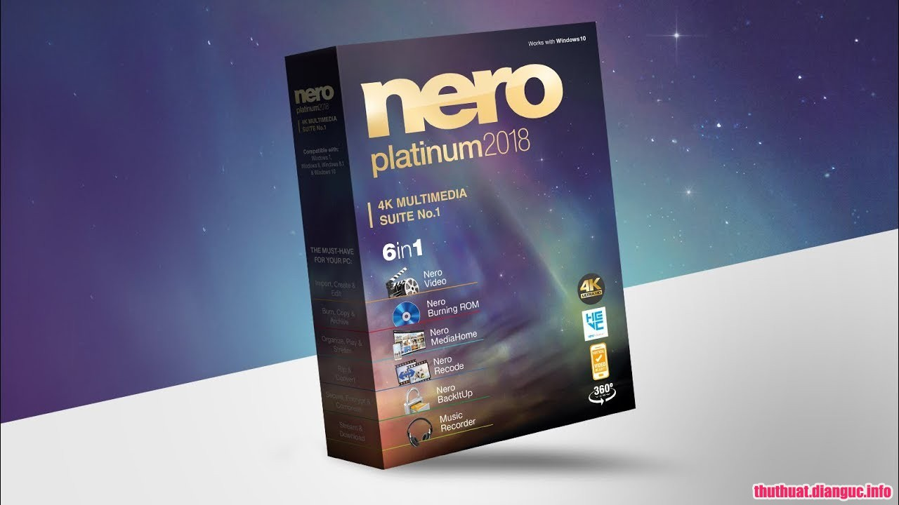 Download Nero Platinum 2019 Suite v20.0.05900 Full Cr@ck