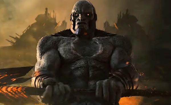 'Liga da Justiça': Visual de Darkseid com armadura no 'Snyder Cut' é revelado