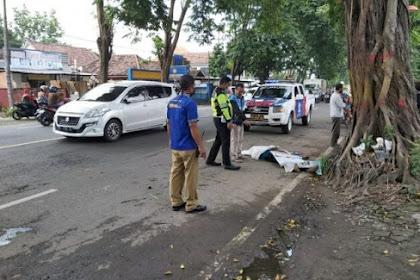 Kecelakaan Tunggal di Mojokerto, Pengemudi Motor Meninggal Seketika