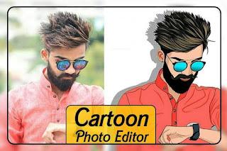 kartun photo aplikasi edit foto jadi anime
