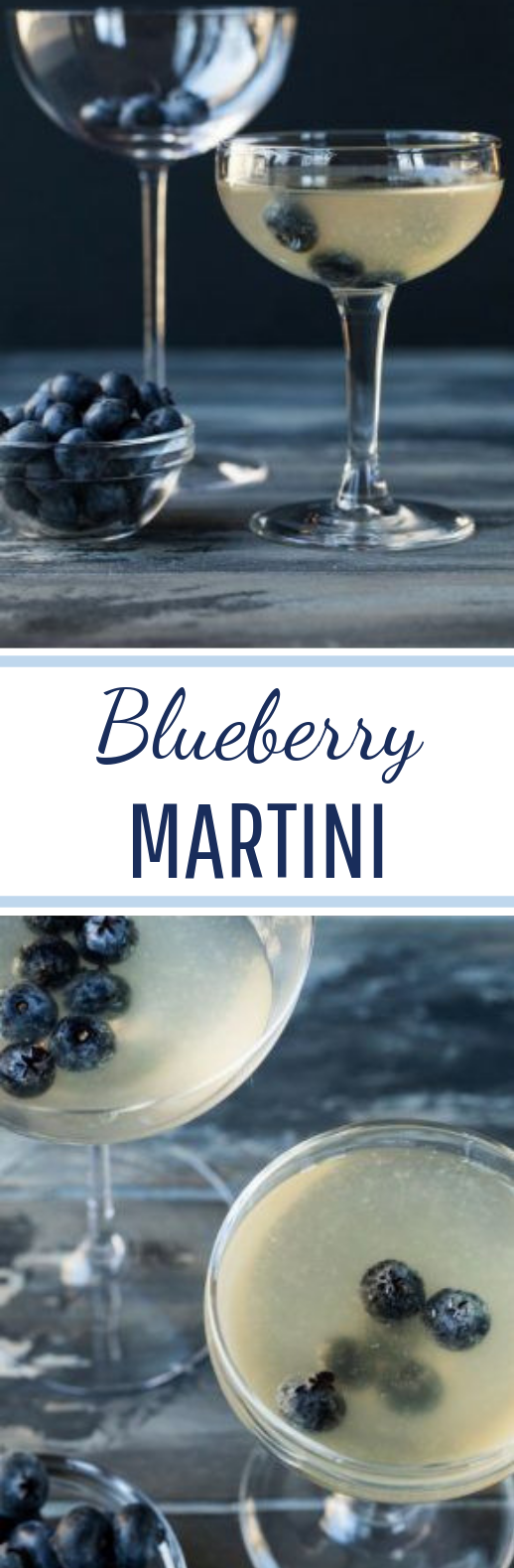 Blueberry Martini #drink #cocktails