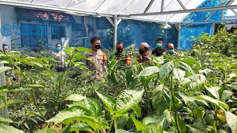 Polres Metro Bekasi Launcing Kampung Tangguh Jaya di Desa Pasirsari