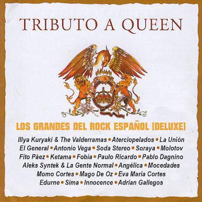 Tributo A Queen - Los Grandes Del Rock Español (Deluxe)