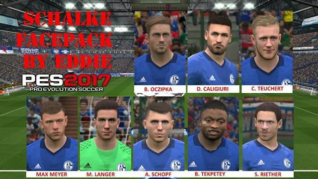 FC Schalke 04 Facepack PES 2017