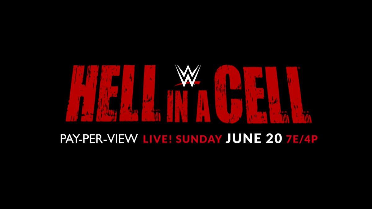 WWE está mudando drasticamente o card do Hell In A Cell 2021