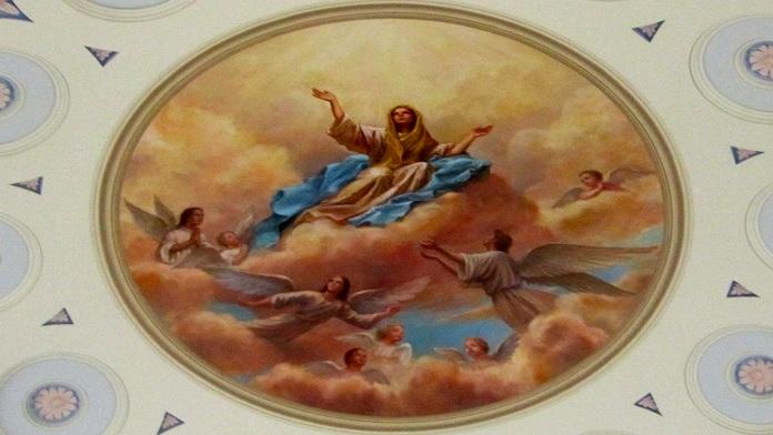 Assunzione di Maria in cielo a Ferragosto