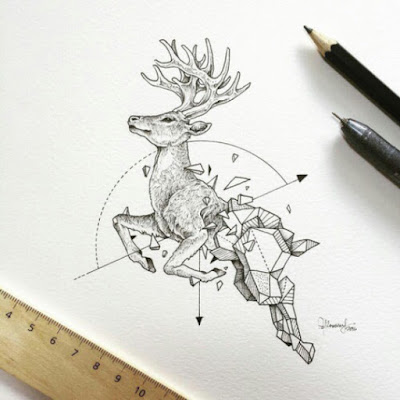 Deer Hunted Tattoos