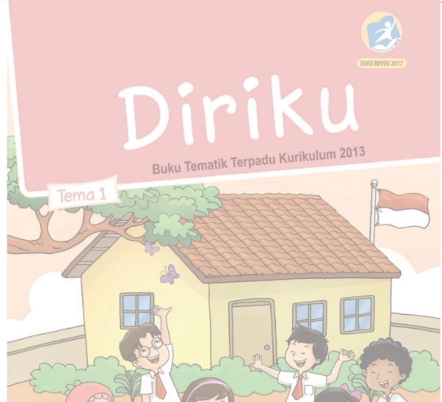 Buku Siswa SD/MI Kelas 1 Kurikulum 2013 edisi Revisi 2017