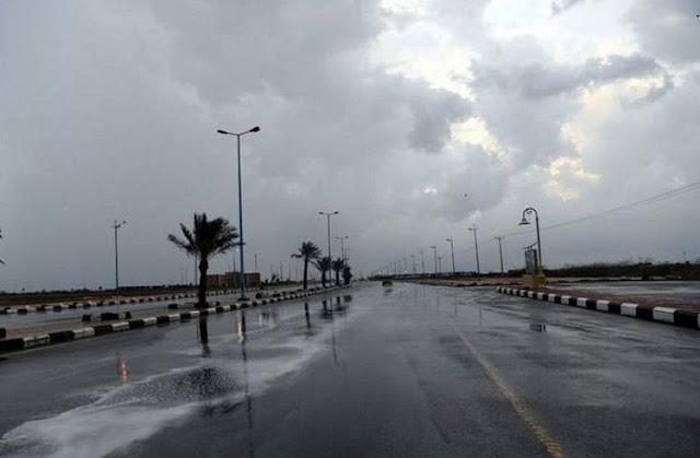 توقعات الطقس ليوم غد : أمطار في الوسط والشمال تأثراً بمنخفض جوي قادم من البحر الأحمر؟