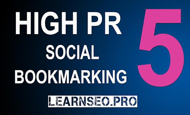 DA 50 Social Bookmarking Sites