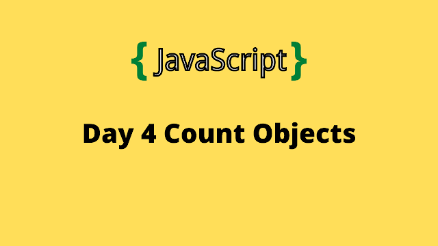 HackerRank Day 4: Count Objects 10 days of javascript solution