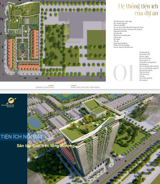 Giá bán thiết kế căn hộ cao cấp dự án chung cư Sunshine Golden River Ciputra Tây Hồ Hà Nội