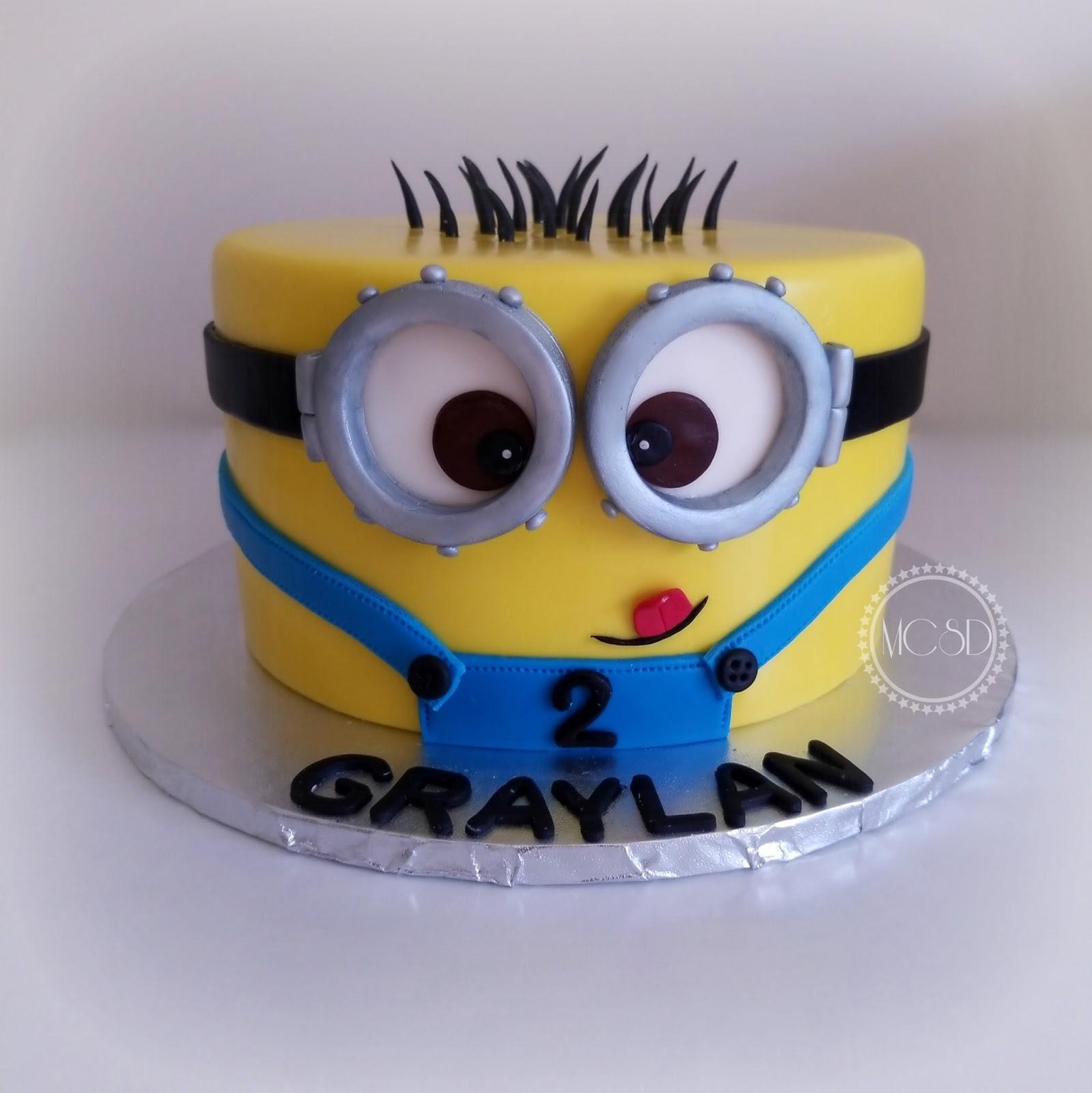 My Cake Sweet Dreams Minion Birthday Cake