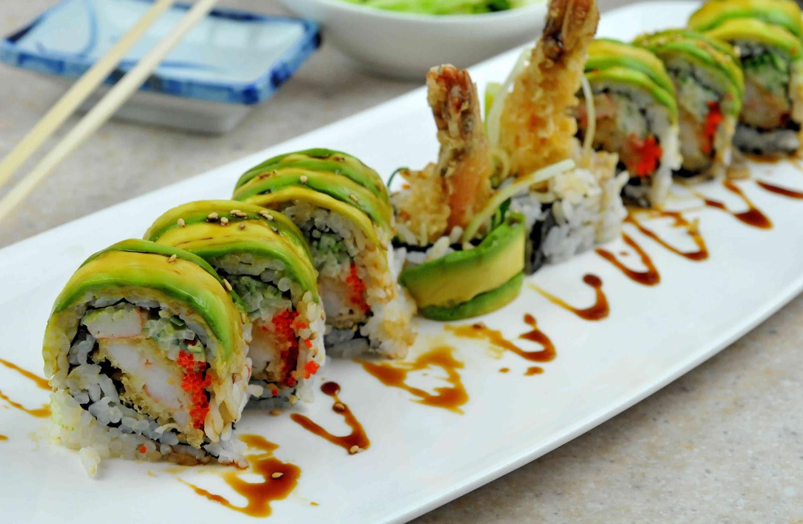 Resultado de imagen para sushi por tipo