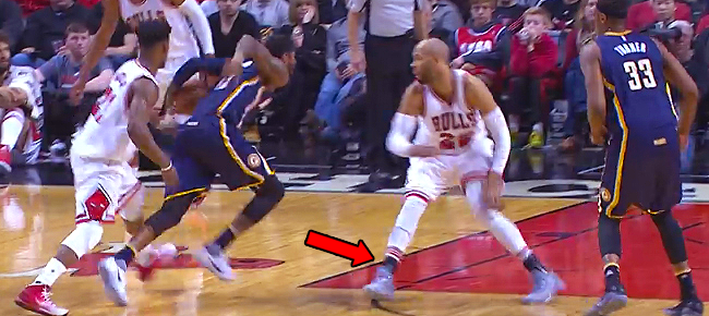 Paul George with the NASTY Crossover On Taj Gibson (VIDEO)