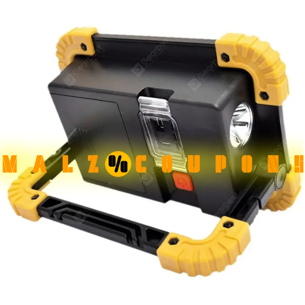 Rechargeable Floodlight USB Work  Outdoor Camping  Brand Utorch W1  ( Discount 64%OFF )