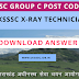 Download UKSSSC X-Ray Technician Answer Key 2017