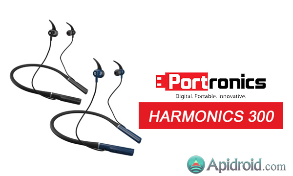 Portronics Harmonics 300 wireless headphones image