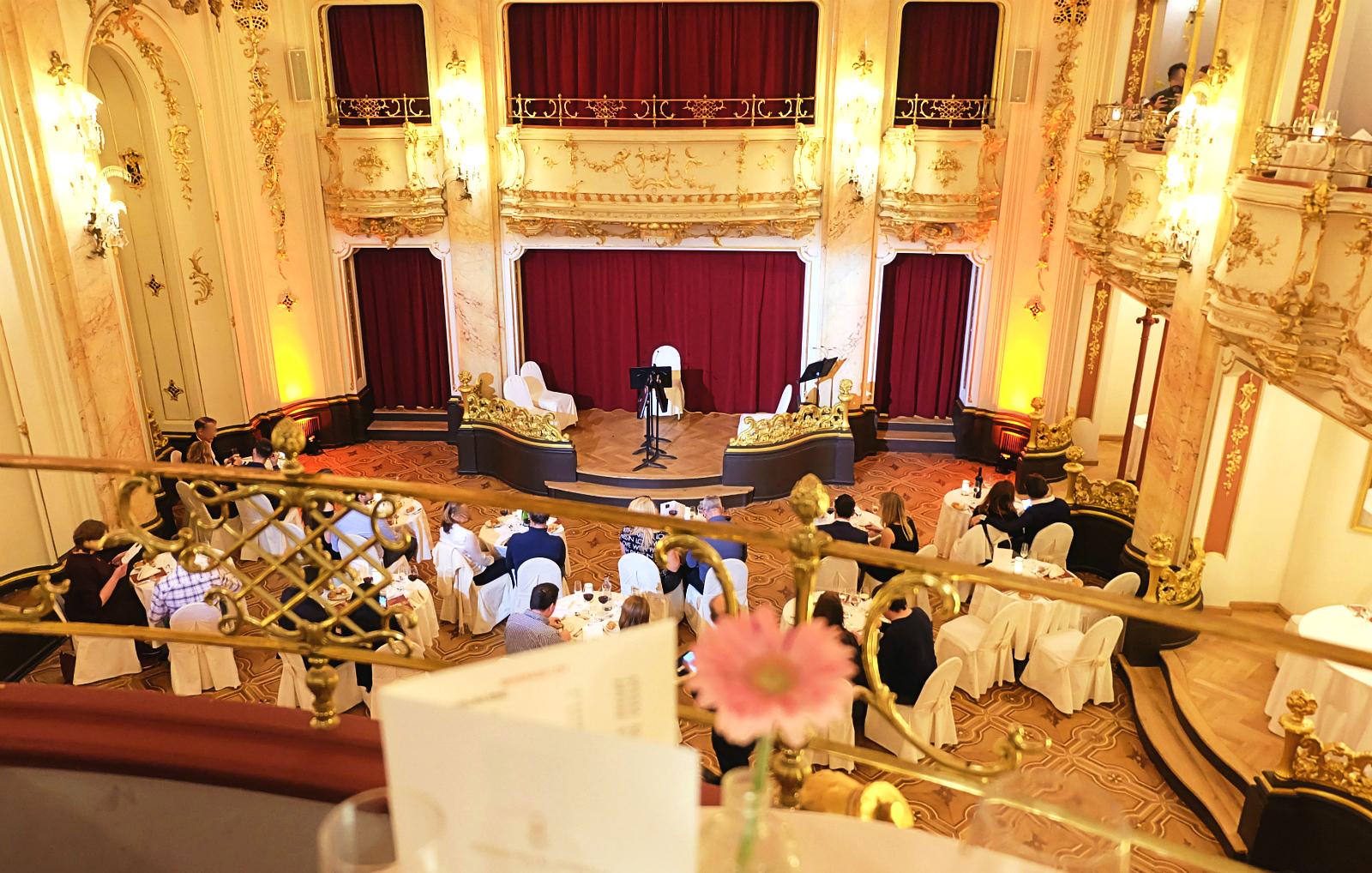 Mozart Dinner Prague - our 4-year anniversary