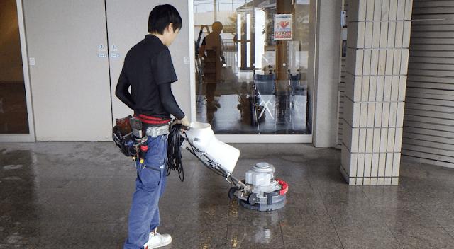 Tuyển 9 nam làm công việc vệ sinh tòa nhà tại Kumamoto tháng 7 năm 2019