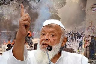 دہلی پولیس کی چارج شیٹ یکطرفہ: مولانا ارشد مدنی
