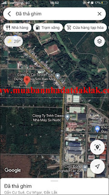 Bán đất xã Cư Suê Huyện Cư M'gar BMT 620 triệu