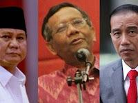 Jika Disuruh Pilih jadi Cawapres Jokowi atau Prabowo, Ini Jawaban Mahfud MD