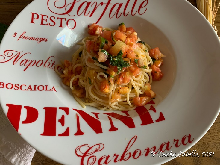 spaghetti-albahaca