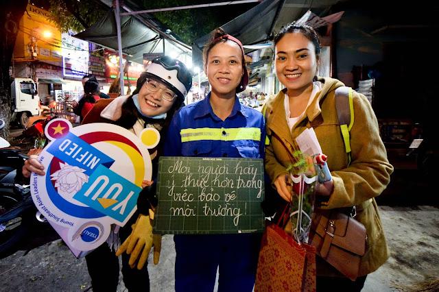 YSEALI Đà Nẵng: Chiến dịch Nói Lời Cảm Ơn - Say Thank You Campaign